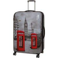 Rock 82cm Montana Expandable 8 Wheel Hard Shell Spinner Suitcase - Big Ben