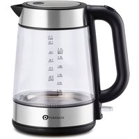 PureMate PM 1625 1.7L Cordless Fast-Boil Glass Electric
