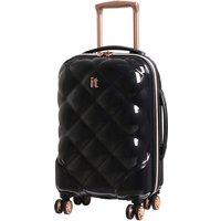 It Luggage St. Tropez Deux 8-Wheel Single Expander Hard Shell Cabin Case - Black