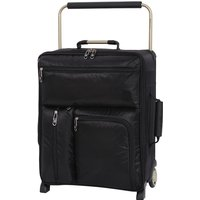 It Luggage Worlds Lightest Wide Handle Design 2-Wheel Cabin Case - Black