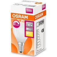 Osram 40W Frosted Globe Filament ES Bulb - Warm White