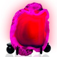 Haven Mineral Rock LED Night Light - Pink