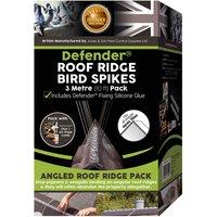Defenders Defender Roof Ridge Bird Spikes - 3m (10ft) Pack
