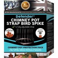 Defenders Defender Chimney Pot Strap Bird Spike Pack