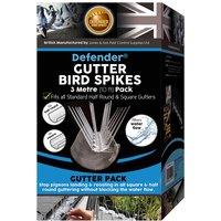 Defenders Defender Gutter Bird Spikes - 3m (10ft) Pack