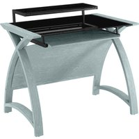 Jual Helsinki Curve Grey Ash/Glass Desk 1300
