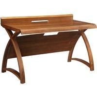 Jual Santiago Curve Walnut Laptop Desk 1300