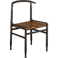 New Foundry Bar Fir Wood Chair With Adjustable Height