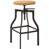 New Foundry Bar Stool Ash Veneer Seat