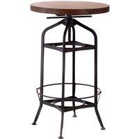 New Foundry Bar Table - Walnut
