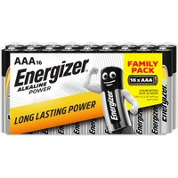 Energizer AAA Alkaline Power 16 Battery Pack