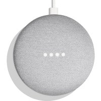 Google Home Mini Hands-Free Smart Speaker - Chalk