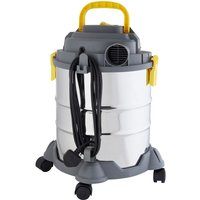Work Expert Wet and Dry Vacuum Cleaner with Plug - 20L