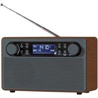 Daewoo Large Wooden DAB+/Fm Radio AVS1324RD