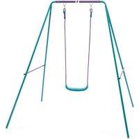 Plum 2-in-1 Metal Swing Set