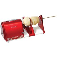 Smart Worldwide Retro Electric Spiral Twister Peeler - Red