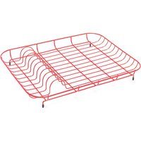 Addis Wire Dish Drainer - Red