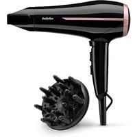BaByliss BAB5558U Curl Dry Hairdryer - Black / Rose Gold