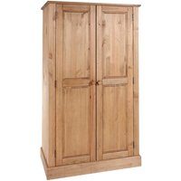 Coleford 2 Door Wardrobe - Natural Pine