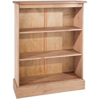 Coleford Low Bookcase - Natural Pine