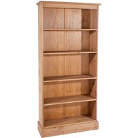 Coleford Tall Bookcase - Natural Pine