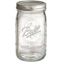 Ball Mason Wide Jars 945ml - 4pk