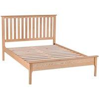 Cranbrook Natural Oak Double Bed Frame