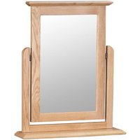 Cranbrook Natural Oak Trinket Mirror