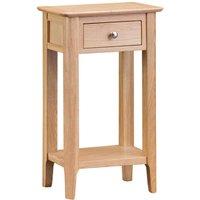 Cranbrook Natural Oak Telephone Table