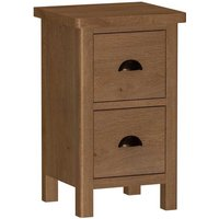 Rosewell Natural Oak Bedside Cabinet