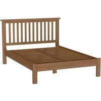 Rosewell Natural Oak King Size Bed Frame