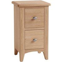 Golston Light Oak Bedside Cabinet