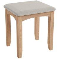 Golston Light Oak Dressing Table Stool