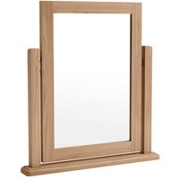 Golston Light Oak Trinket Mirror