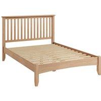 Golston Light Oak Double Bed Frame