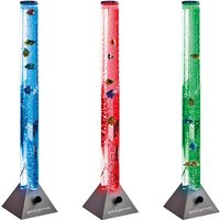 Global Gizmos 90cm Colour Changing Water Bubble Fish Lamp