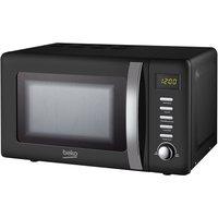 Beko 800W 20L Retro Compact Microwave - Black