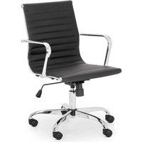 Julian Bowen Gio Black & Chrome Office Chair