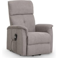 Julian Bowen Ava Rise And Recline Chair - Taupe Chenille