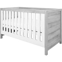 Tutti Bambini Modena 3-in-1 Cot Bed - Ash Grey/White