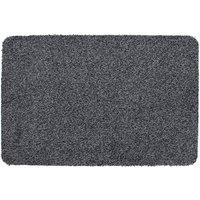 JVL 40x60cm Tanami Barrier Doormat - Charcoal