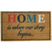 JVL Home Latex Backed Entrance Door Mat - 40x70cm