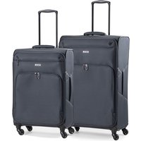 Rock Neo-Lite 2 Piece Nest 4W Lightweight Spinner Case - Charcoal