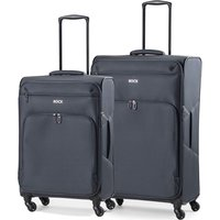 Rock Neo-Lite 2 Piece Nest 4W Lightweight Spinner Case - Black