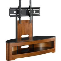 Jual Florence Walnut Cantilever TV Stand
