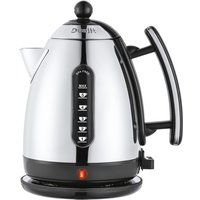 Dualit DA7201 Lite 1.5L Cordless Stainless Steel Jug Kettle - Black