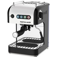 Dualit 84516 Espresso-Auto Coffee and Tea Machine - Stainless Steel & Black