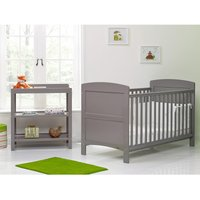 Obaby Grace 2 Piece Room Set - Taupe Grey