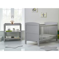 Obaby Grace 2 Piece Room Set - Warm Grey