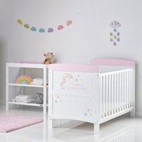 Obaby Grace Inspire 2 Piece Room Set & Changing Mat - Unicorn